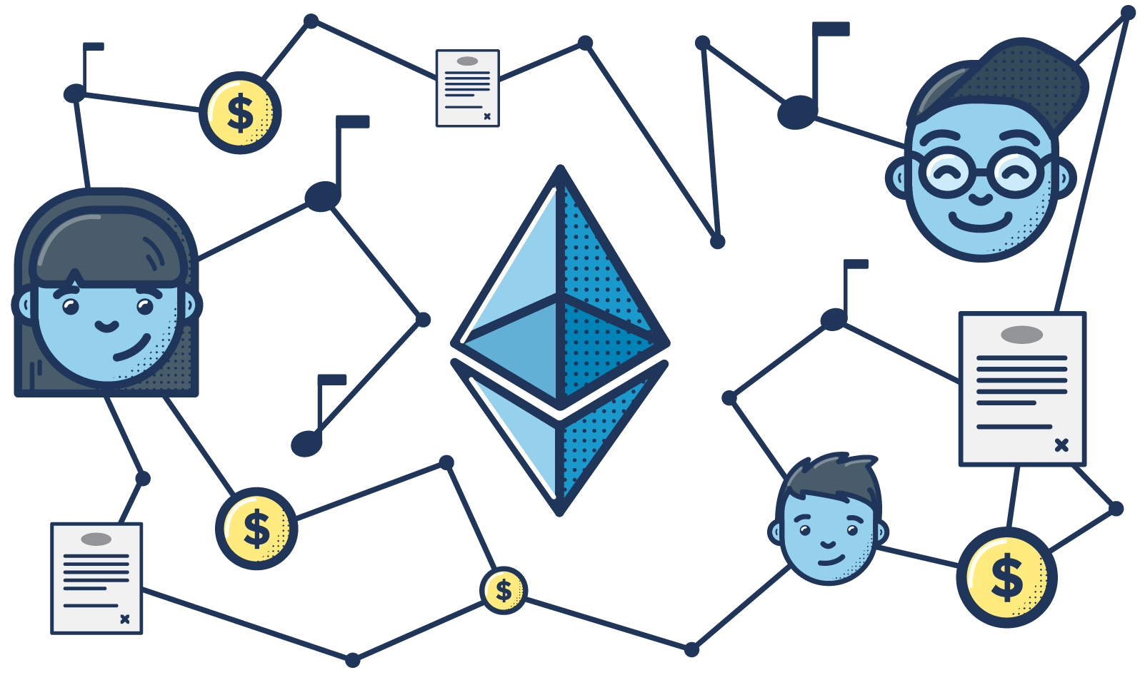 Image result for ethereum blockchain