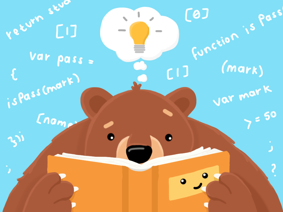 bear-reading