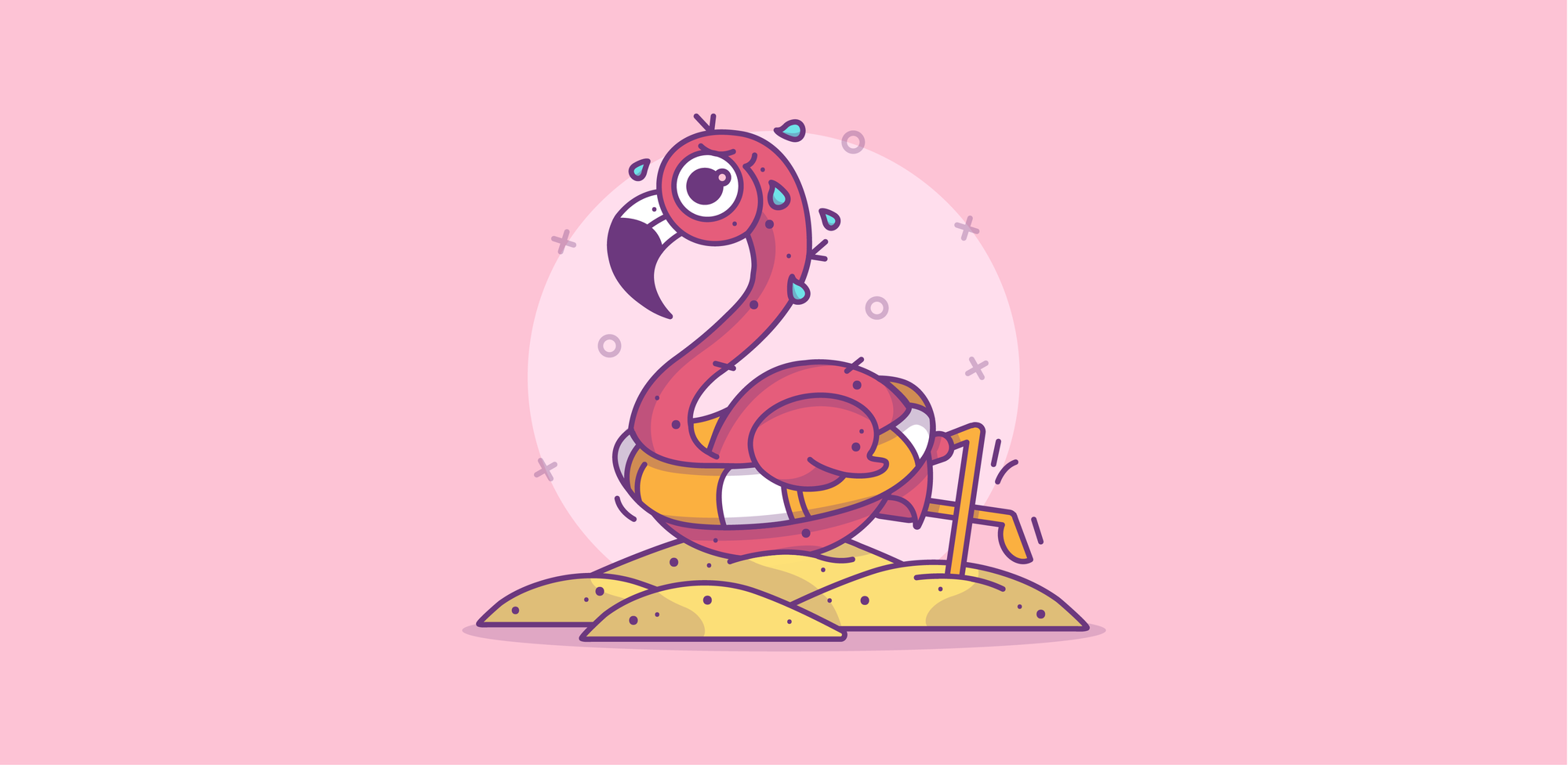 Benny-Ou_Flamingo-trying-to-swim_Out-of-its-environment_Inner-article-04