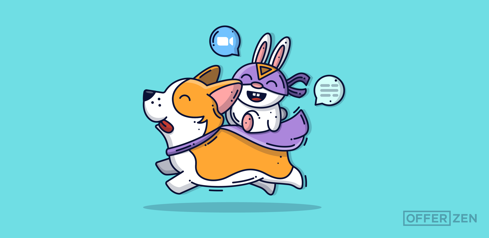 Domina-McQuade_Corgi-and-bunny_Q_A--How-Microsoft-Supports-its-Teams-During-COVID-19_Inner-Article-Image