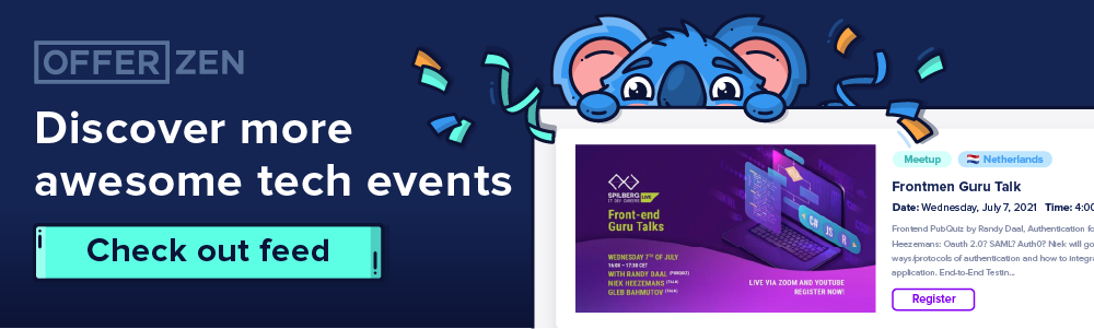 Check out more awesome tech events