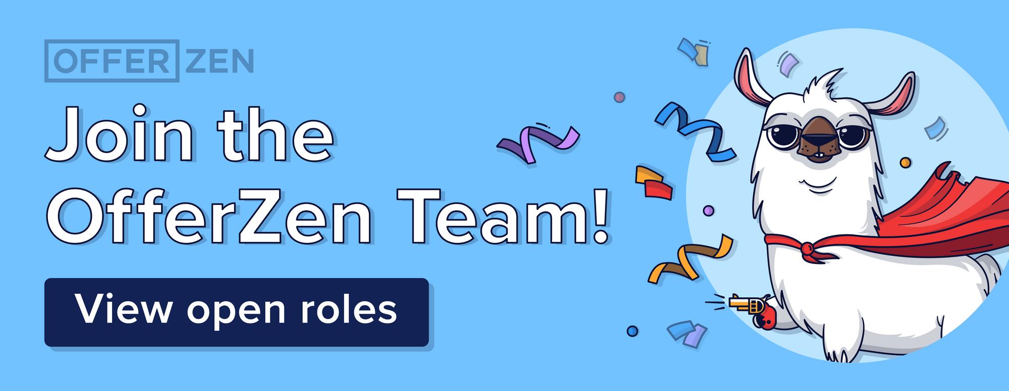OfferZen is hiring!